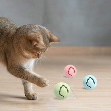 3Pcs Flash Light Balls Cat Ball Toys For Interactive Kitten Toys Balls Bell Balls For For Pet Cat Training