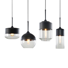 Modern LOFT Glass LED Pendant Lamps Nordic Hanglamp Home Decor Kitchen Lights Fixtures  Hanging Luminaria