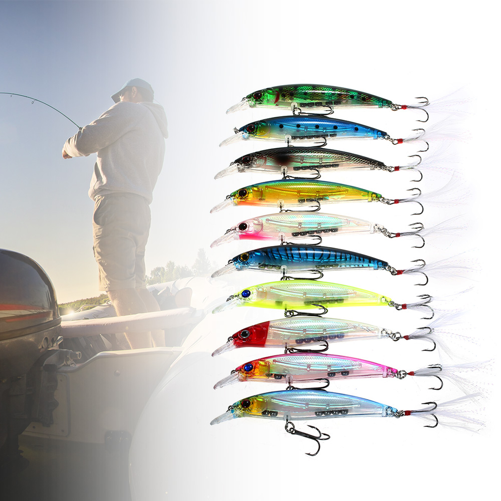 Lixada 10PCS Fishing Lures…