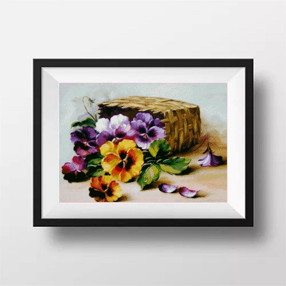 5D Diamond Embroidery Flowers Full Square Diamond Painting Cross Stitch Picture of Rhinestone Diamond Mosaic Resin Drill Flowers in Diamond Painting Cross Stitch from Home Garden