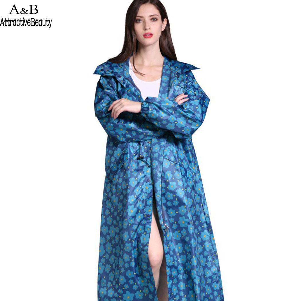 Femmes à manches longues à capuche longue pluie randonnée adultes vêtements imperméables seulement manteau extérieur léger manteau de pluie