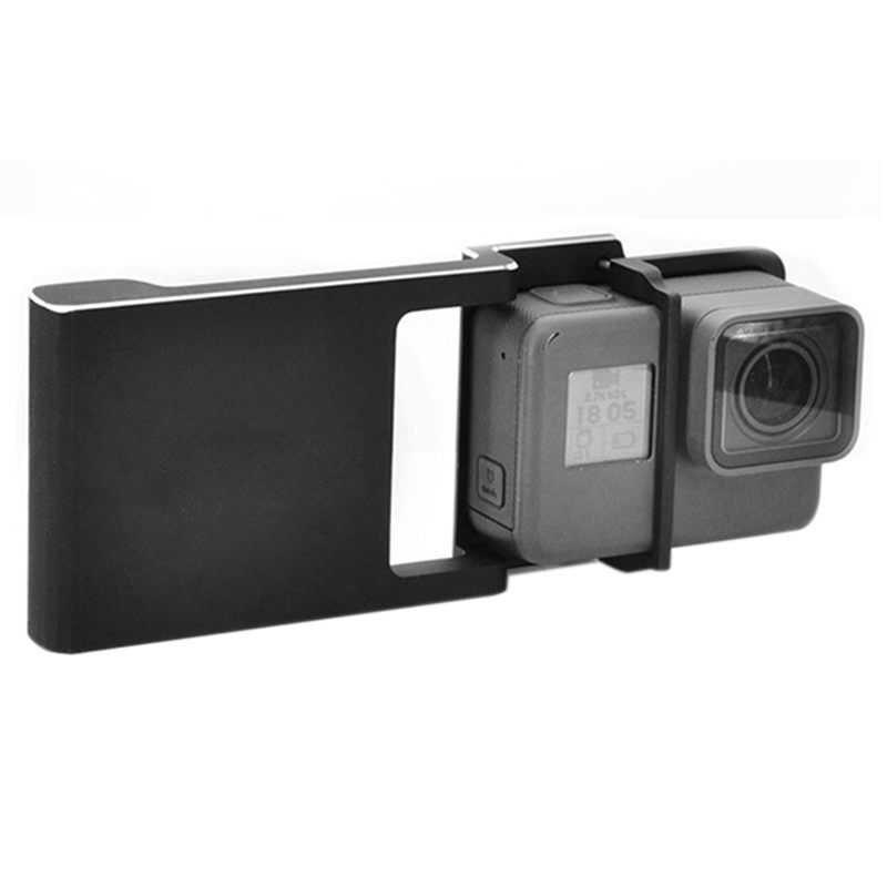 Adaptateur de plaque de montage pour GoPro Hero 5 4 3 + Osmo portable cardan, plaque de montage de commutateur pour GoPro 5 4 3 + Osmo Mobile Handhel