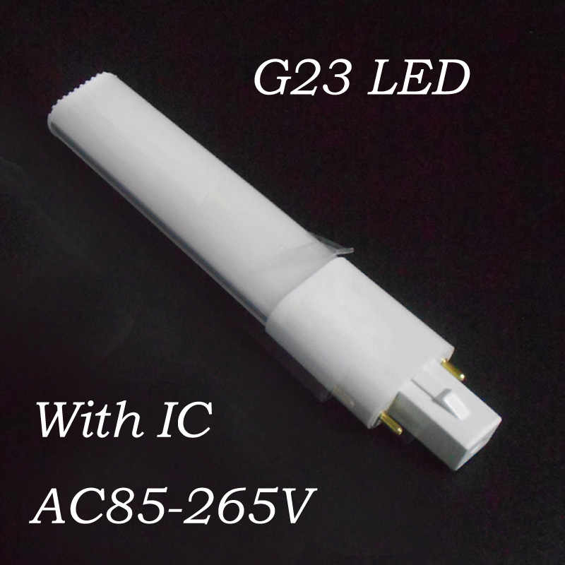 G23 LED הנורה 4W 6W 8W 10W צינור אורות SMD 2835 G23 LED מנורת AC85-265V Epistar שבב g23 led אור צינור PL מנורת 110V 220V 230V