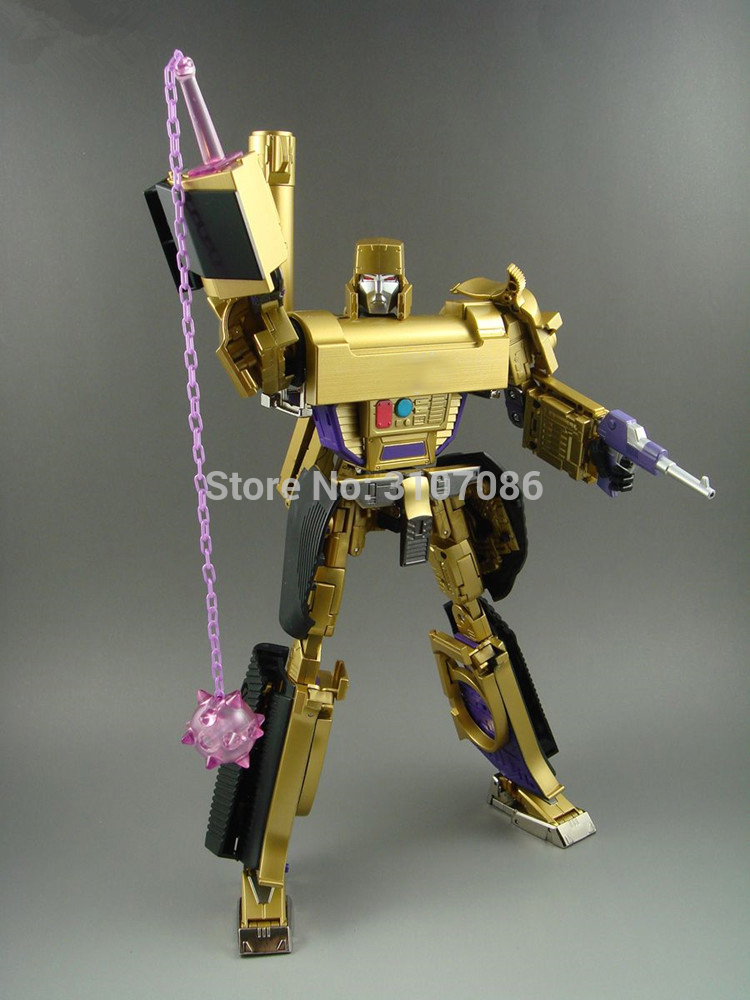 G1 Galvatron Transformation MP05 MP 05 Masterpiece TKR KO Collection Limited Golden Version Action Figure Robot