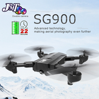 SG900 Drone Dual Camera HD 720P Profession FPV Wifi RC Drone Fixed Point Altitude Hold Follow Me Dron Quadcopter