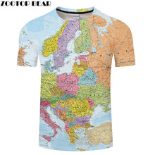 Europe map t-shirt European Countries t-shirts tees.