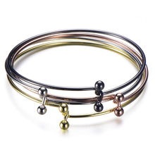 2019 Fashion Rose Gold Color Bracelet For Women Pure Copper Bracelet&Bangle Girl Jewelry Gift Free Shipping недорого