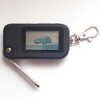 Starline b92 dobrável chave da aleta do carro para starline remoto russo sistema de alarme carro segurança em dois sentidos lâmina sem corte fob