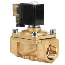 1Pcs PU220-08 G1 Brass Direct Action Electromagnetic Water Solenoid Valve