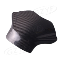 Motorcycle Fuel Gas Tank Cover Protector For Yamaha YZF R6 2008 2009 2010 2011 2012 2013 2014 2015 Carbon Fibre Part Accessories