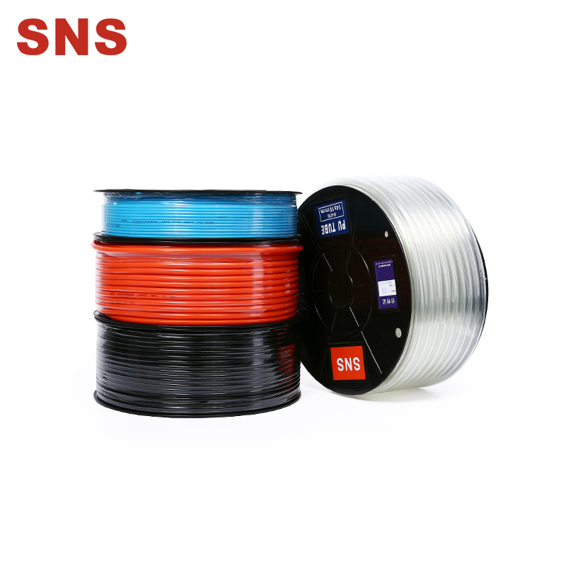 SNS Pneumatic PU Air Tubing Pipe Hose Air Hose for Air Line Tubing Or Fluid Transfer Pneumatic tubing
