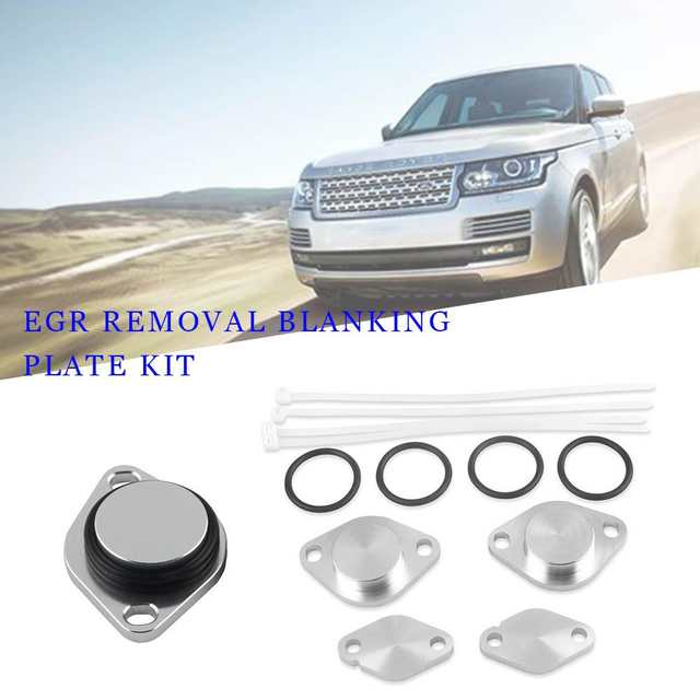 US $10 89 18% OFF EGR Removal Blanking Plate Kit For LAND ROVER DISCOVERY 3  RANGE ROVER SPORT TDV6 BOP23-in Valves & Parts from Automobiles &