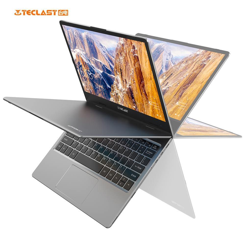 Teclast F5 11.6 Inch TouchScreen 360 Degree Rotating Intel Gemini Lake N4100 8GB DDR4 128GB SSD Laptop for Gaming Work Laptop