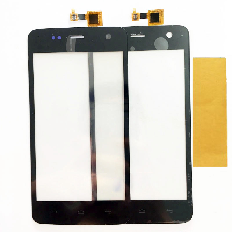 4.7 Inch Touchscreen For Explay Vega Touch Screen Digitizer Front Glass Touch Panel Replcement Black Color
