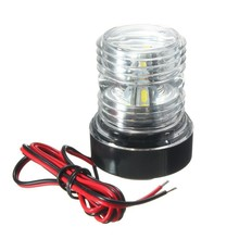 ABS Plastic Marine Boat Yacht Light All Round 360 Degree White LED Anchor Navigation Lamp