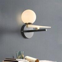Modern Lamp LED Wall Lamps Sconces Staircase Lighting Living Room Wall Lights Lighting Aisle Illumination Bedroom Bedside Avize