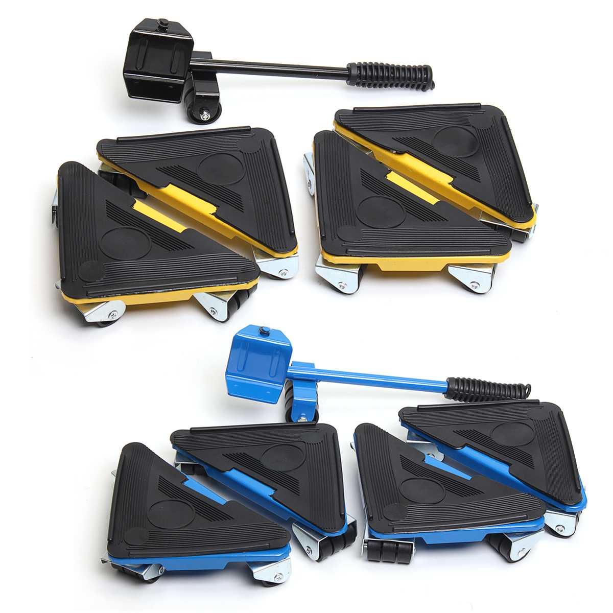 Système mobile Durable de meubles avec l'outil de levage 3 roues ceinture de meubles canapé-lit bureau