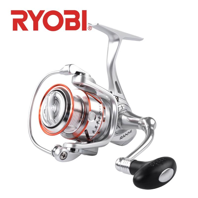 RYOBI RANMI PINGHAI moulinet de pêche moulinets de rotation 1000-8000 série 5.1: 1/5. 0:1 rapport de vitesse MAX glisser 10 kg océan bateau roues de pêche
