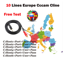Get more info on the 1 Year 10 Lines Spain Europe Cccam Clines For V7 Hd V8 Nova Dvb-s2 Satellite Receiver Full 1080p Decoder Support Powervu