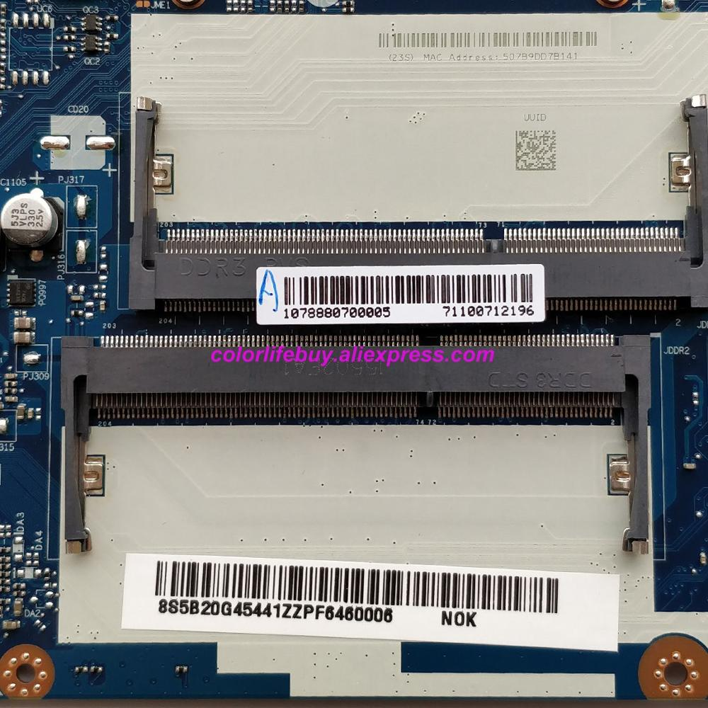 מפתחות ושלטים 5B20G45441 NM-A272 אמיתי w Mainboard האם מחשב נייד מעבד i5-4210U עבור מחשב נייד Lenovo Z50-70 (3)