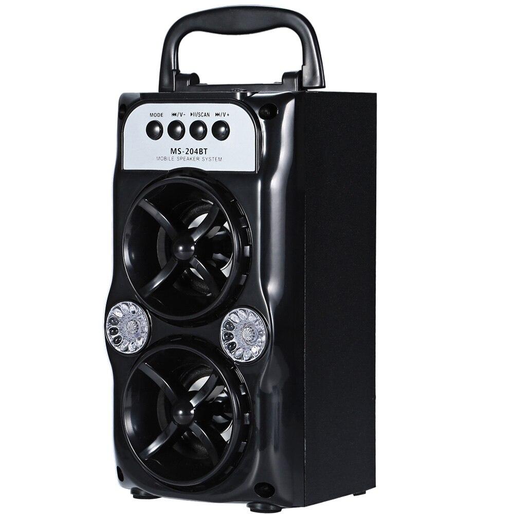 Unterhaltungselektronik Td-v26 Tragbare Radio Lautsprecher Mit Lcd Display Unterstützung Micro Sd/tf Mp3 Musik Player Digital Fm Kompatibel Für Laptop
