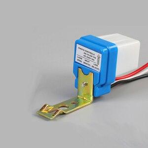 Image 4 - Automatic Auto On Off Photocell Street Light Switch DC AC 220V/110V/24V/12V 50 60Hz 10A Photo Control Photoswitch Sensor Switch