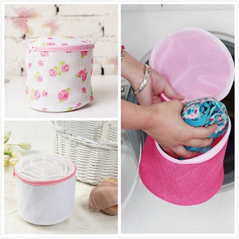 Laundry Underwear Bra Brassiere Panty Lingerie Saver Mesh Wash Basket Women Washing Net Bag