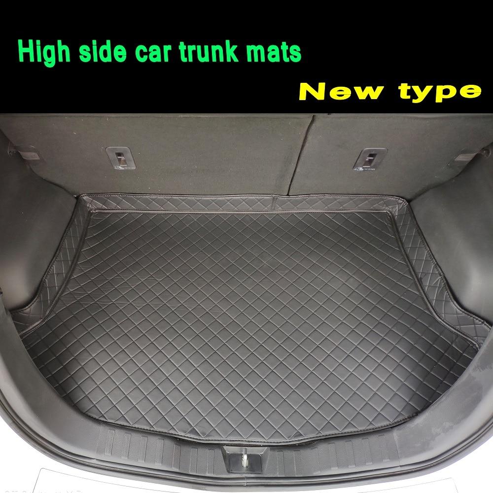 Anti-slip rubber Cargo Liner Trunk Mat for Ford Edge 2015-up