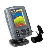 BMDT Портативный 3.5in ЖК дисплей Sonar локатор для рыб от 0,6 м до 80 M 200 кГц/83 кГц кости Feix рыбы детектора эхолот FF688C