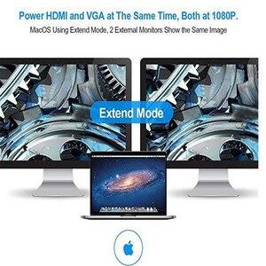 Image 5 - Dizüstü bilgisayar yerleştirme istasyonları 10 in 1 tip C USB3.0 RG45 HDMI VGA SD TF dönüştürücü Laptop aksesuarları için macBook Samsung Galaxy S9