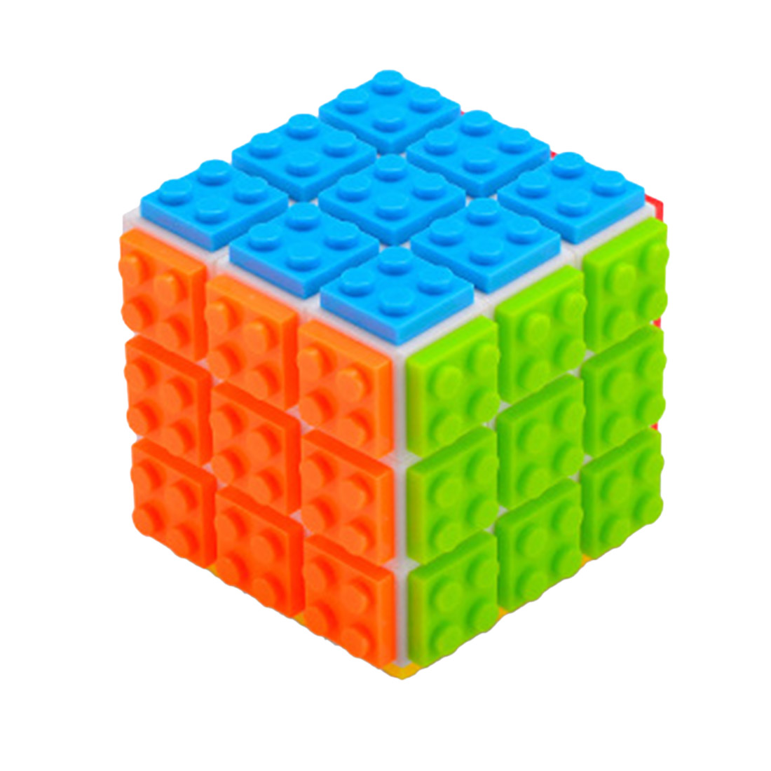 FanXin 3x3 Magic Cube Square Block Cube Puzzle Toy For Brain Training