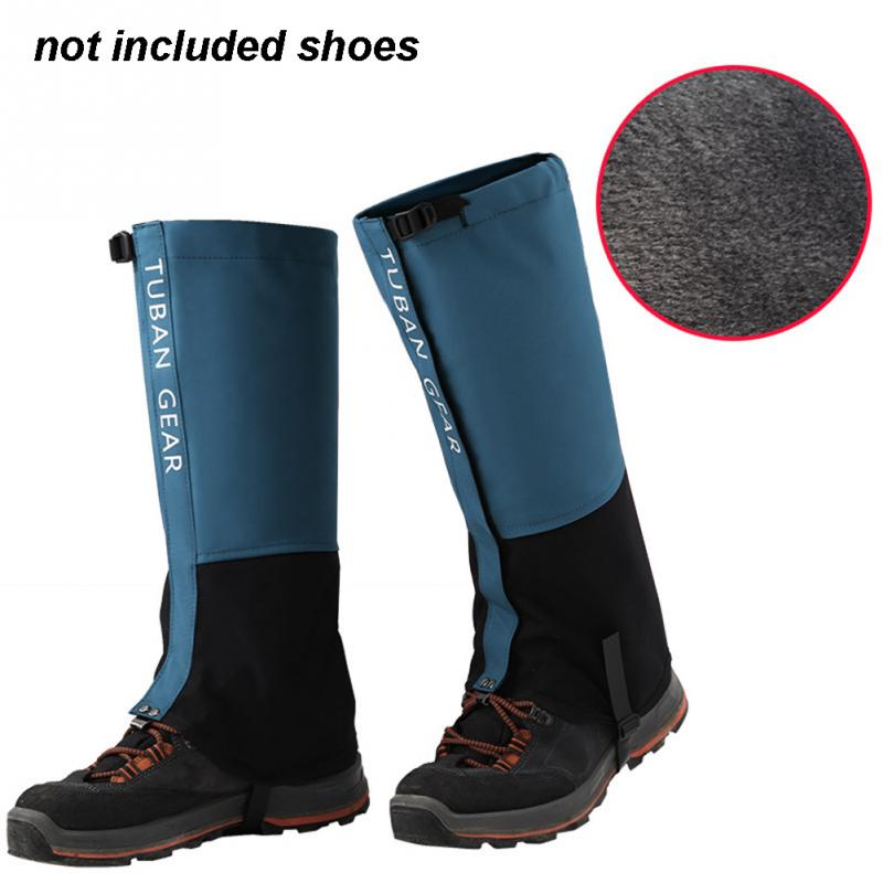 Outdoor Snow Kneepad Skiing Gaiters Boots Hiking Climbing