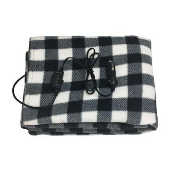 145*100cm Lattice Energy Saving Warm 12v Car Heating Blanket Autumn And Winter Electric Blanket Car Accessories 1