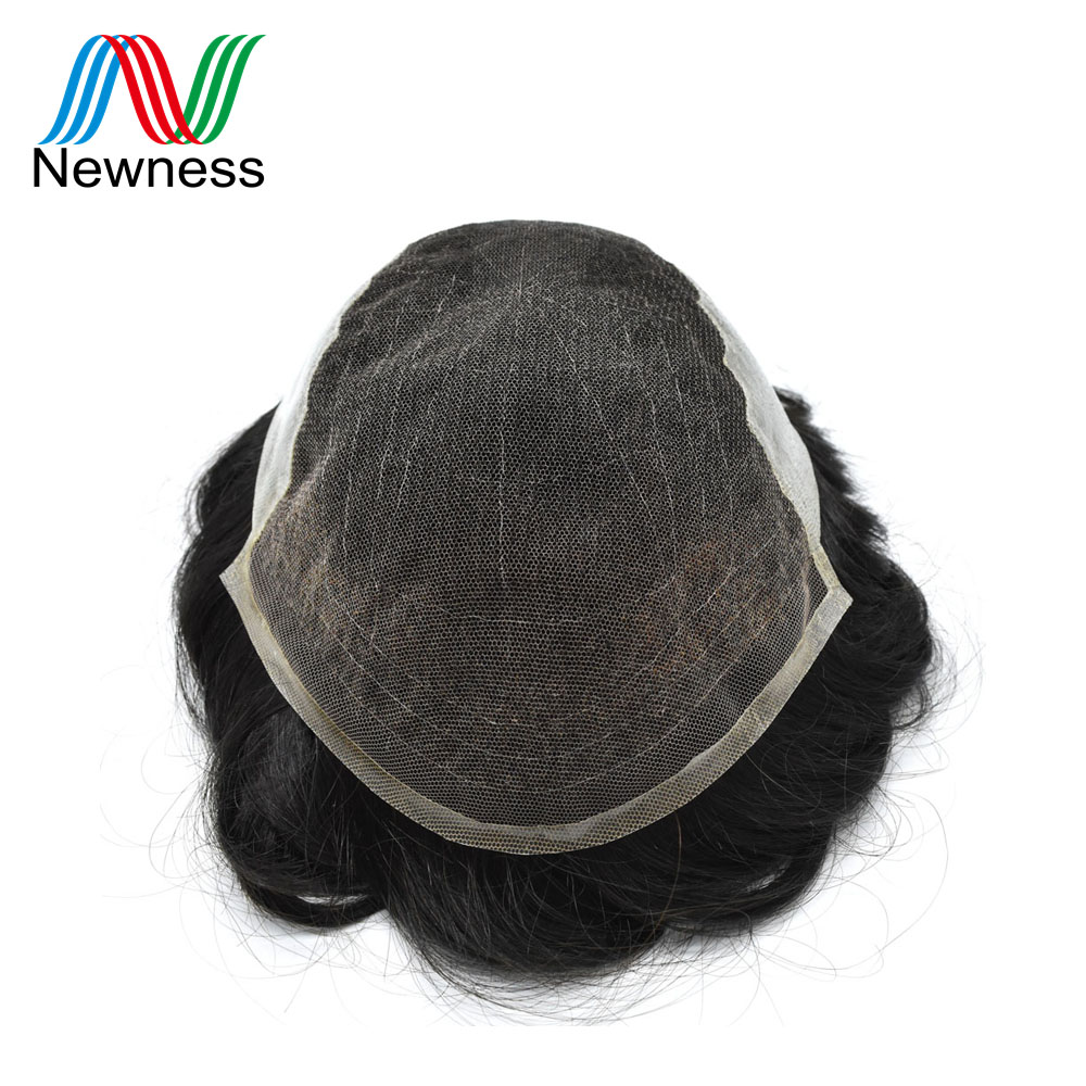 Haarverlängerung Und Perücken KöStlich Neuheit Haar Männer Toupet Mens Haar System Natürliche Farbe Remy Menschenhaar Perücke Für Männer Männer Haarteile