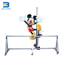 3D Effect Wall Printer / Printing Machine horizontal wall printer