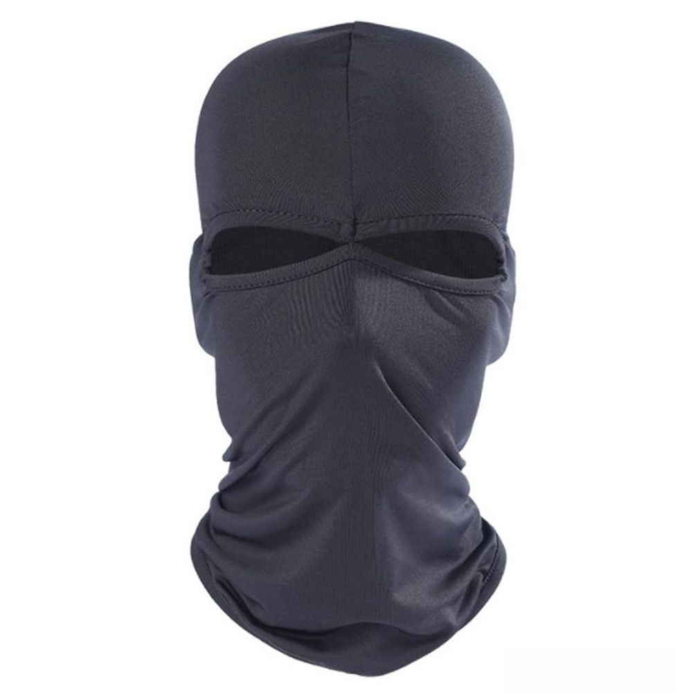 Men Women Hats Outdoor Bicycle Cycling Ski Hat Balaclava Full Face Mask Two Holes Casual   Skullies     Beanies   Travel Sportswear Caps