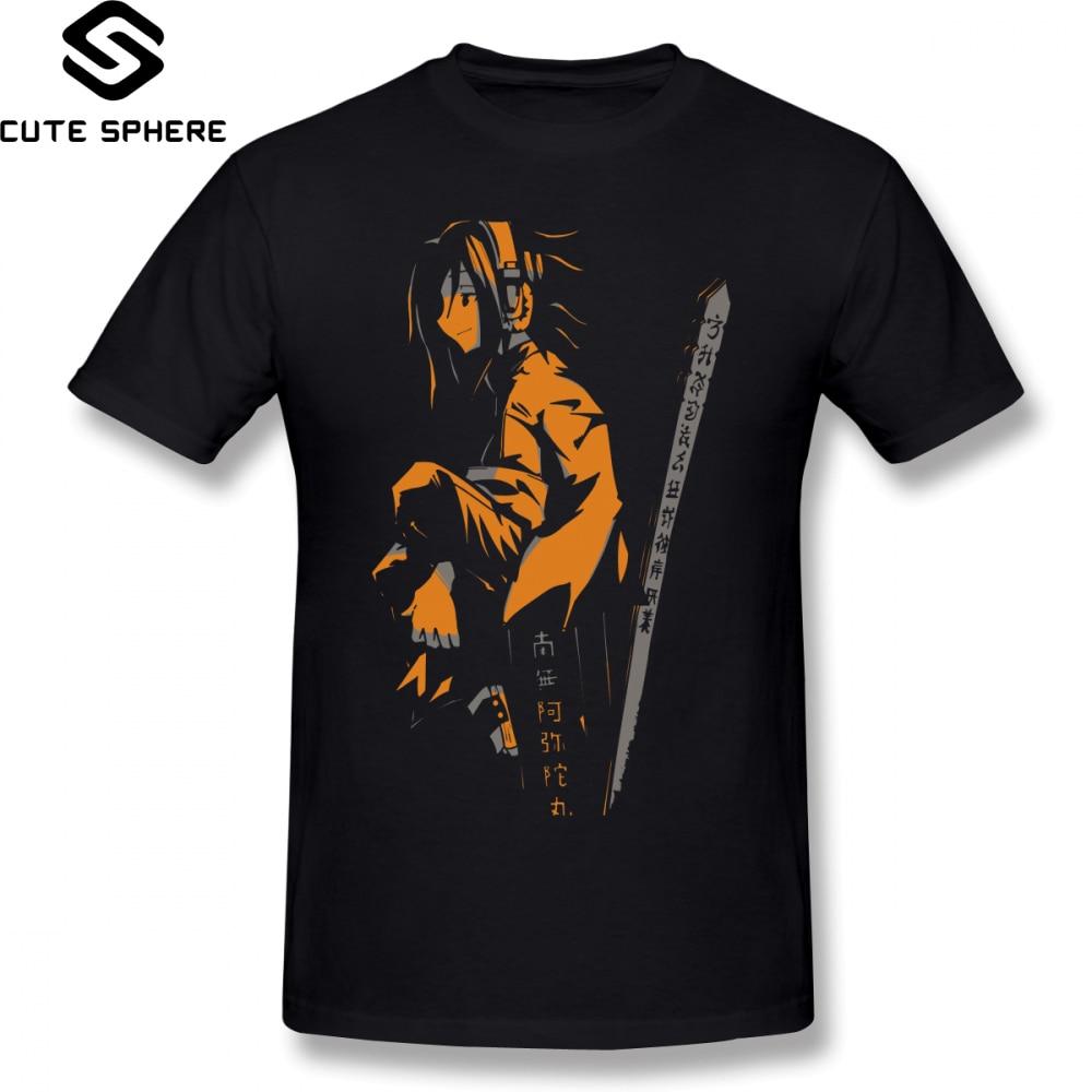 Shaman King   T     Shirt   Shaman King Yoh Orange   T  -  Shirt   100 Cotton Short Sleeve Tee   Shirt   Funny Man Print Plus size Summer Tshirt