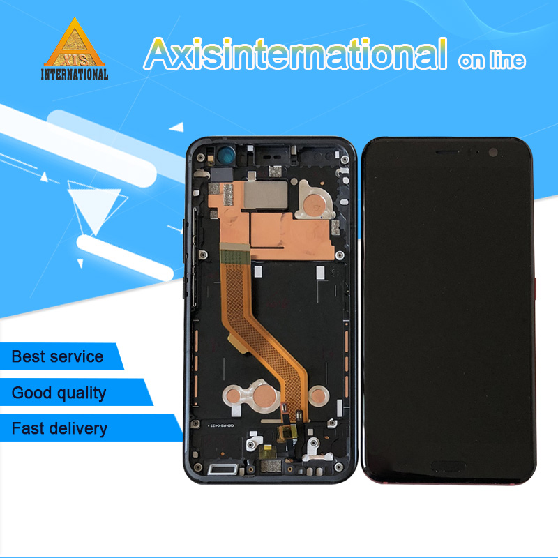 Axisinternational For 5.5 HTC U11 LCD Screen Display With Frame+Touch Panel Digitizer For HTC U11 U-3w U-1w U-3u Display FrameAxisinternational For 5.5 HTC U11 LCD Screen Display With Frame+Touch Panel Digitizer For HTC U11 U-3w U-1w U-3u Display Frame