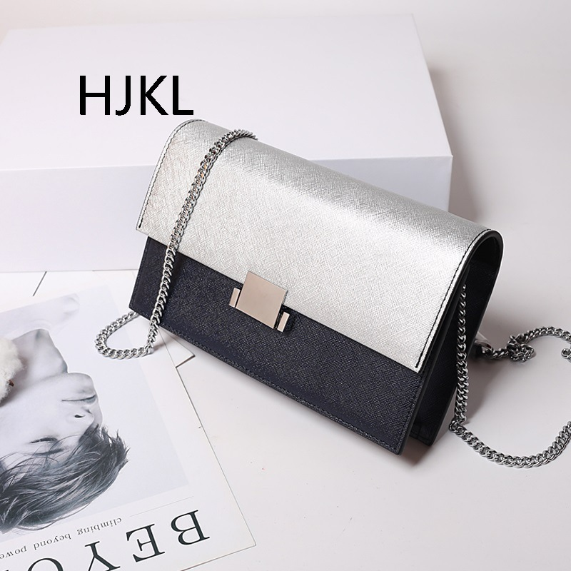 Leather Clutch Womens Bag Fashion Single Shoulder Skew Chain All- Match WALLET PURSE Womens Bag Casual Wild Lady HandbagsLeather Clutch Womens Bag Fashion Single Shoulder Skew Chain All- Match WALLET PURSE Womens Bag Casual Wild Lady Handbags