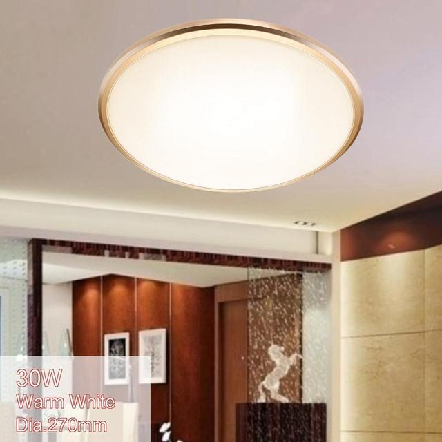 Led Ceiling Lights Dia 380mm Acrylic Bright Cool White 40w Modern Fixture Lamp Livingroom Kitchen Bedroom Balcony Light
