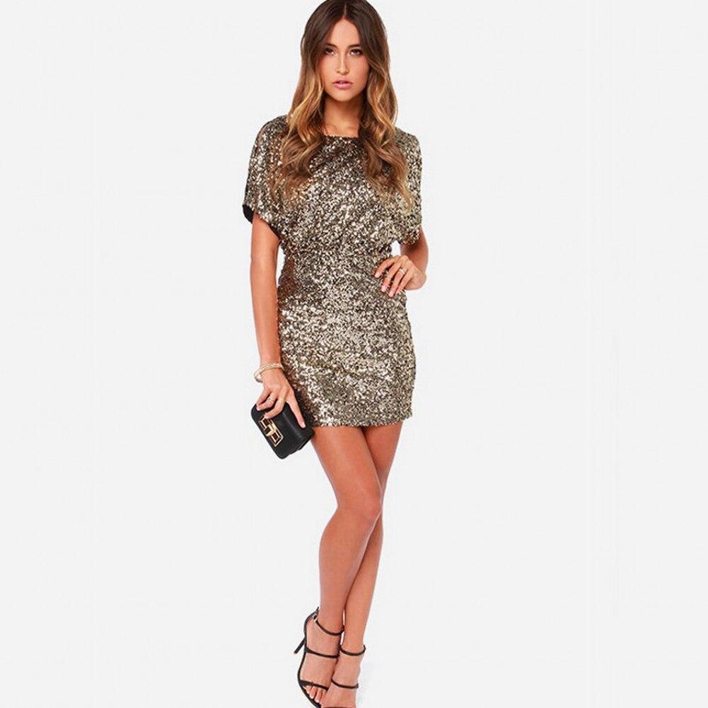 Sexy mini sequin dress sleeveless bodycon club mesh slim sling dress c monrsh