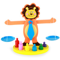 Montessori Wooden Lion Balance Toys
