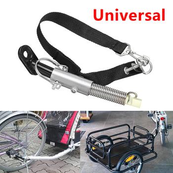 Przyczepka rowerowa stalowa Linker przyczepa do roweru klasyczny zaczep uniwersalny Model Baby Pet łącznik zaczep Linker tanie i dobre opinie Ride on 3 lat 2-4 lat Trzy Metal Unisex