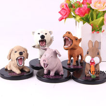 Urso Polar Cão Porco Coelho Camelo TAKARA TOMY 3rd Anime Figurine Dos Desenhos Animados Animal Action Figure Model Collection Toy 5 pçs/set(China)