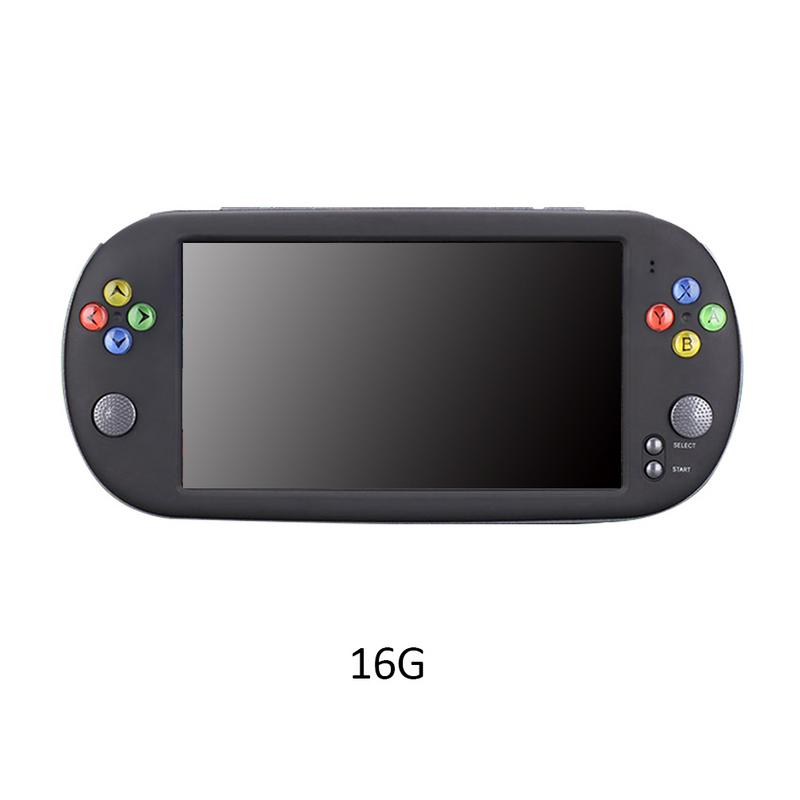 HD Handheld Game Console PSP X16 Large Screen 7-inch HD Handheld GBA Arcade Game NES Nostalgic FC CPS GBA SFC MD Game ConsoleHD Handheld Game Console PSP X16 Large Screen 7-inch HD Handheld GBA Arcade Game NES Nostalgic FC CPS GBA SFC MD Game Console