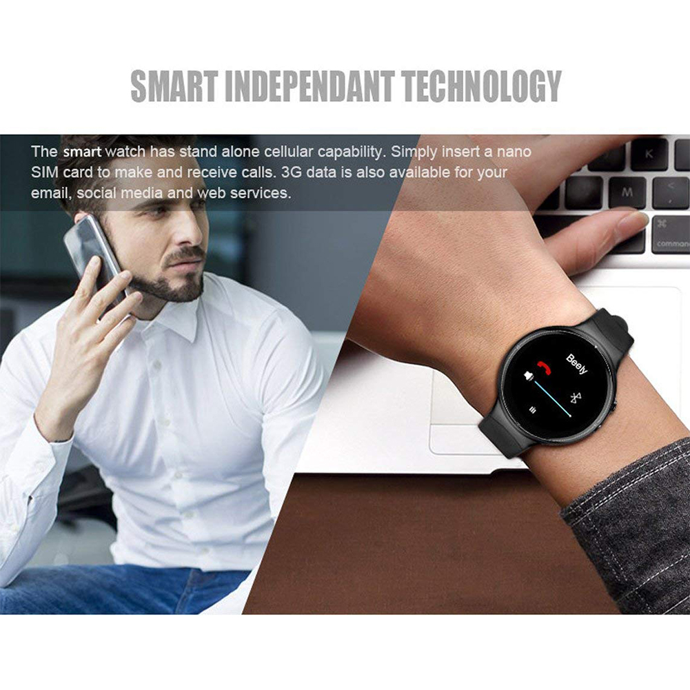 i4 AIR Smart Watch RAM 2GB ROM 16GB 2MP Camera Android 5.1 3G WIFI GPS Google Play Heart Rate Monitor For Iphone LG Samsung HT