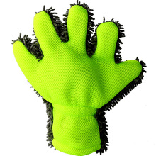 Car Wash Gloves Fine Wool Chenille Finger Gloves Microfiber Car Wash Glove Cleaning Mitt Washing Brush Cloth Car Cleaning Tools все цены
