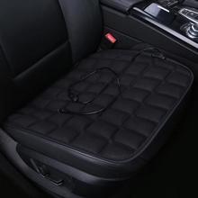 Автомобильные сиденья зимние плюшевые Нескользящие подушки Pad коврики офисное кресло мягкие дышащие сиденья авто салонные аксессуары
