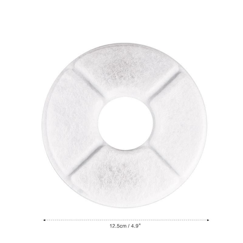 4 шт. фильтр с активированным углем для автоматической подачи воды с фонтаном для кошек и собак замена фильтра питьевой машины Основные аксессуары