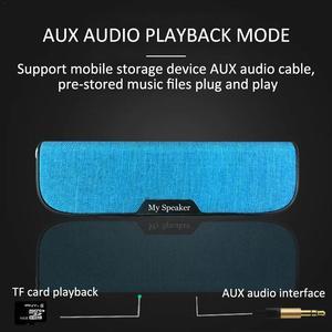 Image 5 - Уровень 4 водостойкий Bluetooth динамик Портативный акустическая ткань карманный динамик беспроводной Bluetooth динамик домашний UBS аудио портативное радио